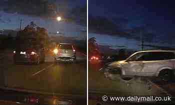Victorian driver doesn't check blind spot before changing lanes leading to serious accident