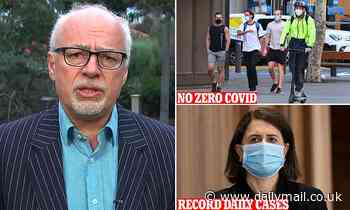 Epidemiologist Tony Blakely predicts Sydney will never have zero daily cases of Covid