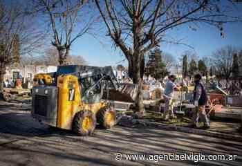 El municipio de Quilmes avanza con las mejoras en el Cementerio Municipal - Agencia El Vigía