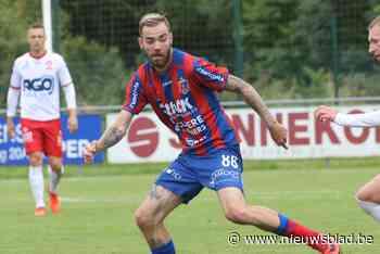 """Laurenz Simoens draaft nu bij KVK Westhoek de flank af: """"We hebben een aardige ploeg"""""""