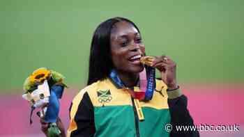 Elaine Thompson-Herah: Instagram blocks gold medallist who shared race win