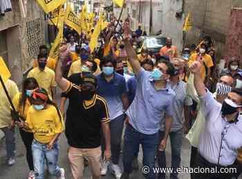 Ocariz en recorrido por Los Teques afirma que la gente pide un cambio y dice que apoya la unidad - El Nacional