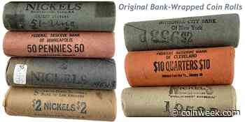 What You Should Know About Original Bank-Wrapped (OBW) Coin Rolls - CoinWeek