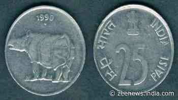 You can earn lakhs if you have THIS special 25 paise coin, check details - Zee News