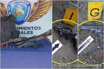 Abatidos tres sujetos en presuntos enfrentamientos con la policía en Mariara y Güigüe - El Carabobeño