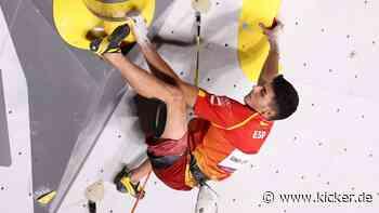 Schuberts Kämpferherz macht Gines Lopez zum ersten Olympiasieger im Sportklettern - kicker