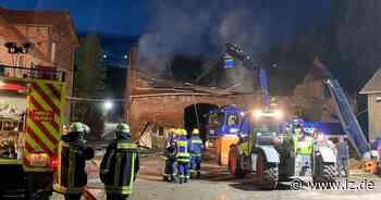 Scheune in Billerbeck fällt Großbrand zum Opfer   Lokale Nachrichten aus Lippe - Lippische Landes-Zeitung
