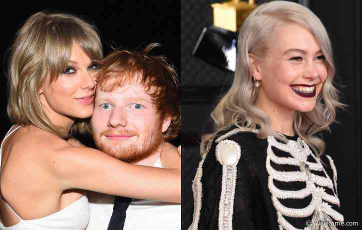 Taylor Swift confirms Phoebe Bridgers and Ed Sheeran collaborations on 'Red (Taylor's Version)'