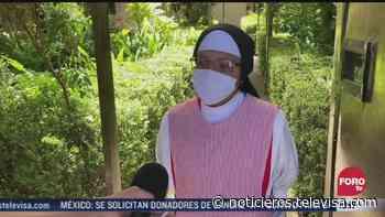 Brote de COVID-19 en monasterio de Corpus Christi en Xalapa - Noticieros Televisa