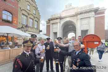 """Cafébaas trakteert pompiers, die zijn beste bier bevrijdden: """"Magnifieke geste"""""""