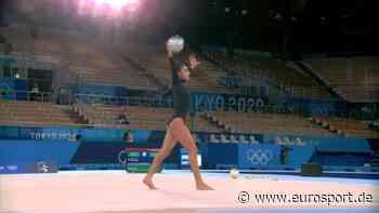 Olympia - Rhythmische Sportgymnastik: Zohra Aghamirova turnt zu Back in Black von AC/DC - Eurosport DE