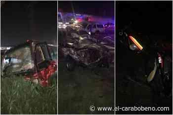 Accidente vial en la ARC a la altura de Palo Negro ocasionó tres muertos y 12 heridos - El Carabobeño