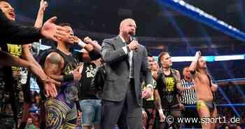 WWE: Sabotiert Vince McMahon NXT-Projekt von Kronprinz Triple H? - SPORT1