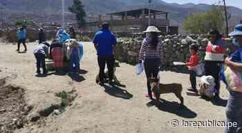 Arequipa: vacunan contra la rabia canina a casi 5.000 perros en Yura - LaRepública.pe