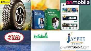 Q1FY22 Earnings Results - From JK Tyre, Divis Lab, Jaiprakash Associates, Indiabulls Real Estate, Quick Hea... - Zee Business