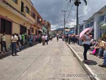Lentitud caracteriza elecciones primarias del Psuv en Boconó - Diario de Los Andes