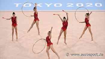Olympia 2021: Gold für Bulgarien in der Rhythmischen Sportgymnastik in Tokio - Eurosport DE