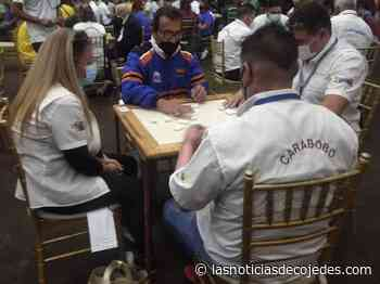¡Juegos Nacionales! Cojedes entre los mejores en Campeonato de Dominó - Las Noticias de Cojedes