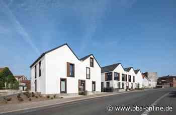 Neubau eines Wohnparks in Billerbeck in Nordrhein-Westfalen. Spiel mit Fensterfaschen - bba - bau beratung architektur