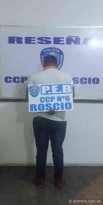 Por agresión física contra su pareja capturaron a un hombre en Guasipati - primicia.com.ve