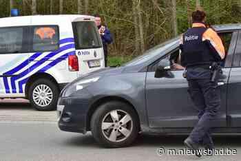 Politie int 4.765 euro aan achterstallige verkeersbelasting - Het Nieuwsblad