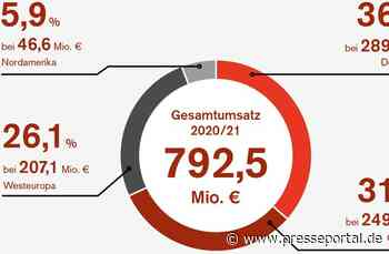 EOS Gruppe verzeichnet auch in der Corona-Pandemie ein erfolgreiches Geschäftsjahr 2020/21 - Presseportal.de