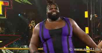 WWE NXT: 180-Kilo-Koloss Odyssey Jones rückt in den Fokus - SPORT1