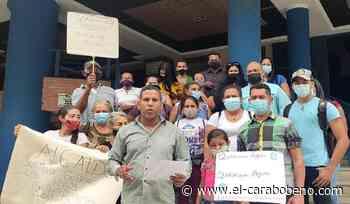 Agua pidieron en la alcaldía de Naguanagua vecinos de González Plaza - El Carabobeño