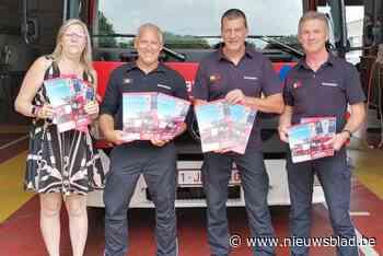 Te koop: brandweerkalender mét foto's van nieuwe VRT-serie