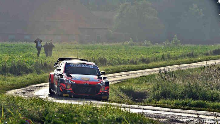Thierry Neuville vliegt naar snelste tijd in shakedown in Rally van Ieper - sporza.be