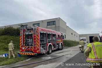 Brand ontstaan tijdens laswerken in textielbedrijf (Ieper) - Het Nieuwsblad