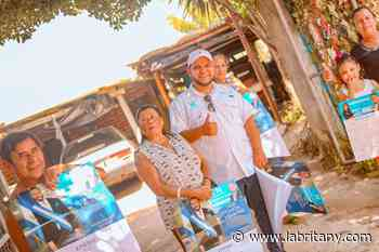 Futuro Alcalde de San Juan Opico Roberto Alas se prepara junto a miles de personas para hacer historia el 28F - La Britany