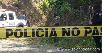 Asesinan a pandillero en colonia de San Agustín, Usulután - Solo Noticias