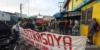 Protestas en Soyapango por despidos masivos en alcaldía - La Prensa Grafica