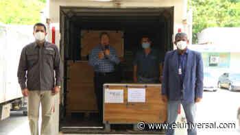 Gobernador de Aragua recibe equipo radiográfico para el Hospital Central de Maracay - El Universal (Venezuela)