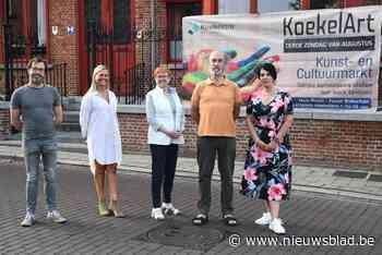 """KoekelArt focust op jonge kunstenaars en artiesten: """"We willen allemaal een vuist maken tegen corona"""" - Het Nieuwsblad"""