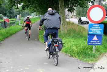 Jaagpad langs vaart twee maanden lang onderbroken (Schoten) - Gazet van Antwerpen Mobile - Gazet van Antwerpen