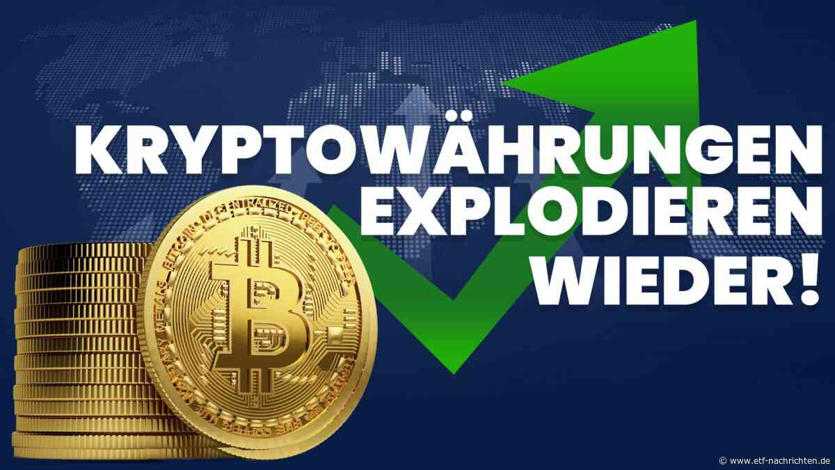 The Graph, Cardano, Synthetix, Qtum - Kryptomarkt setzt Höhenflug fort - ETF Nachrichten