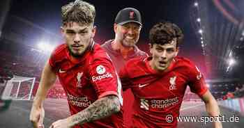 FC Liverpool: Harvey Elliott und Owen Beck sind Klopps Stars von morgen - SPORT1