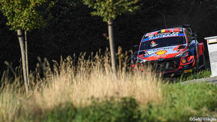 Neuville maakt Belgische rallyfans gek met eindwinst in Rally van Ieper - sporza.be