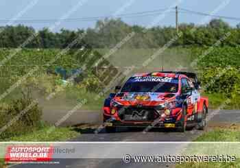 WRC Ieper KP9: Breen wint en nadert, Tänak verliest tijd - Autosportwereld