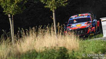 Neuville neemt de leiding in Rally van Ieper, Ogier al op aanzienlijke achterstand - sporza.be