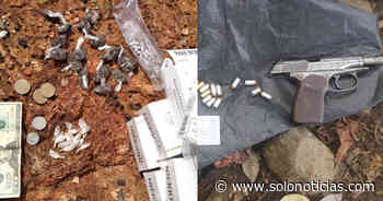 Capturado con más de 30 porciones de droga en Sensuntepeque, Cabañas - Solo Noticias