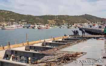 Obra em cais de Arraial do Cabo deve ser entregue na semana que vem - O Dia