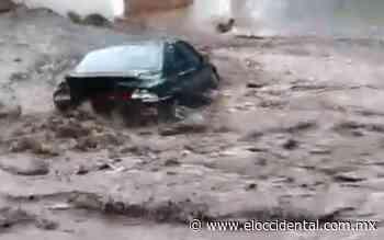 Fuerte lluvia hizo que creciera el arroyo Jamay - El Occidental