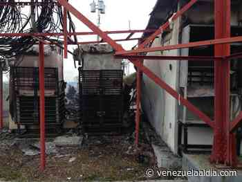 Delincuencia arremete nuevamente contra estación de Movistar en Táriba, estado Táchira - Venezuela Al Día