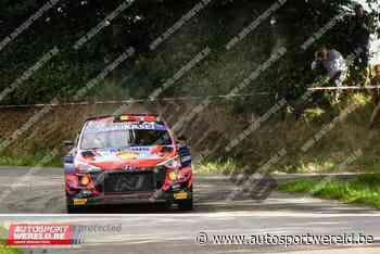 WRC Ieper (KP18): Tänak snelst op Francorchamps - Autosportwereld