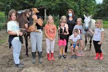 Ponyverzorging, kinderyoga en creatief zijn tijdens kampjes