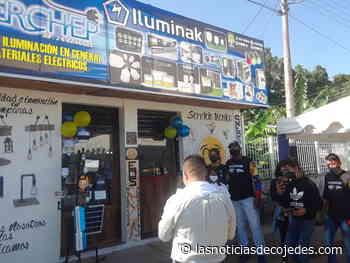 Inaugurado en San Carlos Serchep… Todo en Iluminación - Las Noticias de Cojedes