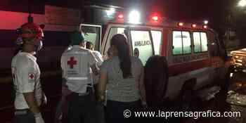 Cuatro motociclistas lesionados en Apopa - La Prensa Grafica
